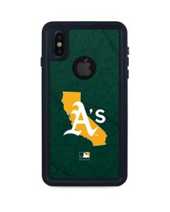 Oakland Athletics Home Turf iPhone X Waterproof Case