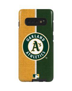 Oakland Athletics Split Galaxy S10 Plus Pro Case