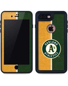 Oakland Athletics Split iPhone 7 Plus Waterproof Case