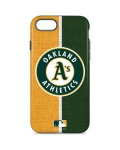 Oakland Athletics Split iPhone 8 Pro Case