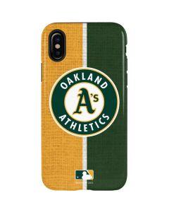 Oakland Athletics Split iPhone XS Pro Case