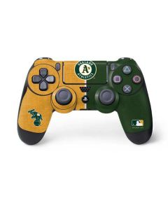 Oakland Athletics Split PS4 Controller Skin