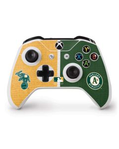 Oakland Athletics Split Xbox One S Controller Skin