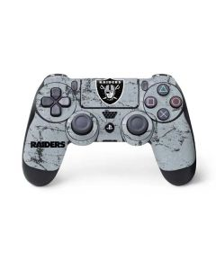 Oakland Raiders - Alternate Distressed PS4 Controller Skin