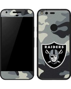 Oakland Raiders Camo Google Pixel Skin