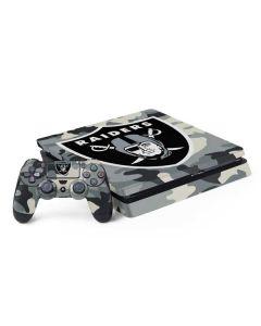 Oakland Raiders Camo PS4 Slim Bundle Skin