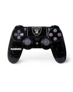 Oakland Raiders Distressed PS4 Controller Skin