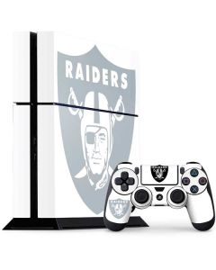 Oakland Raiders Double Vision PS4 Console and Controller Bundle Skin