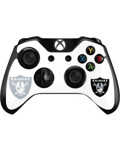 Oakland Raiders Double Vision Xbox One Controller Skin