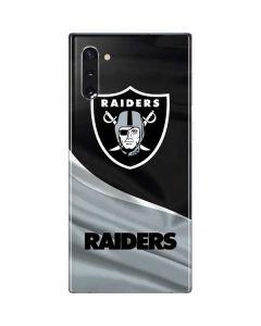 Oakland Raiders Galaxy Note 10 Skin