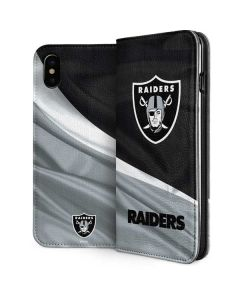 Oakland Raiders iPhone XS Folio Case