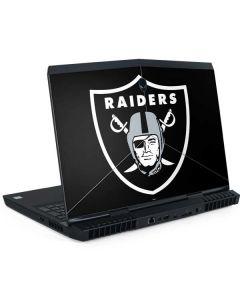 Oakland Raiders Large Logo Dell Alienware Skin