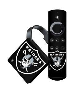 Oakland Raiders Large Logo Amazon Fire TV Skin