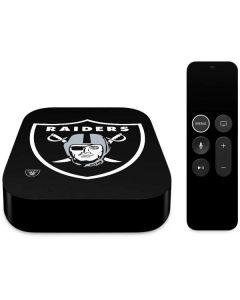 Oakland Raiders Large Logo Apple TV Skin