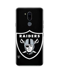 Oakland Raiders Large Logo G7 ThinQ Skin
