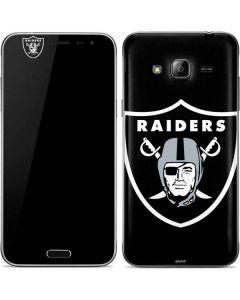 Oakland Raiders Large Logo Galaxy J3 Skin