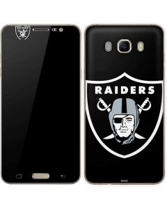 Oakland Raiders Large Logo Galaxy J7 Skin