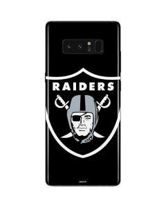 Oakland Raiders Large Logo Galaxy Note 8 Skin
