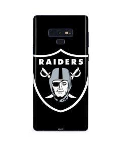 Oakland Raiders Large Logo Galaxy Note 9 Skin