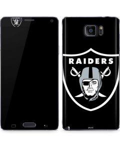 Oakland Raiders Large Logo Galaxy Note5 Skin