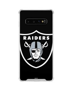 Oakland Raiders Large Logo Galaxy S10 Clear Case