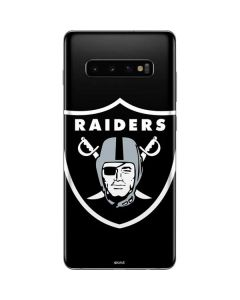 Oakland Raiders Large Logo Galaxy S10 Plus Skin