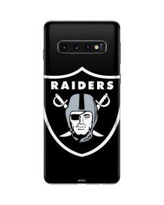 Oakland Raiders Large Logo Galaxy S10 Skin