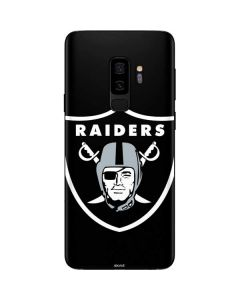 Oakland Raiders Large Logo Galaxy S9 Plus Skin