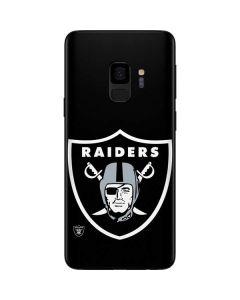 Oakland Raiders Large Logo Galaxy S9 Skin