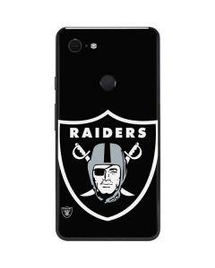 Oakland Raiders Large Logo Google Pixel 3 XL Skin