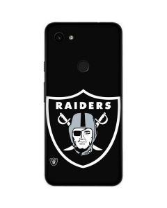 Oakland Raiders Large Logo Google Pixel 3a Skin