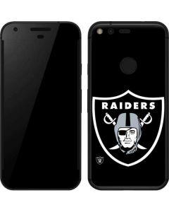 Oakland Raiders Large Logo Google Pixel Skin