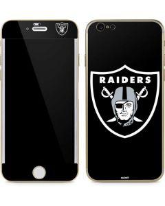 Oakland Raiders Large Logo iPhone 6/6s Skin