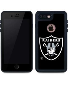 Oakland Raiders Large Logo iPhone 8 Plus Waterproof Case