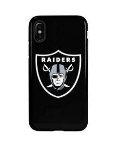 Oakland Raiders Large Logo iPhone X Pro Case