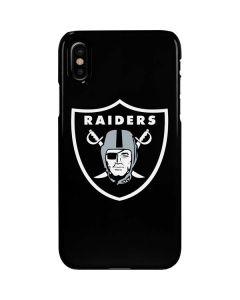 Oakland Raiders Large Logo iPhone XS Lite Case
