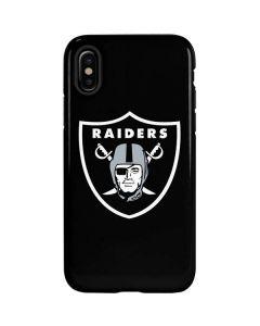 Oakland Raiders Large Logo iPhone XS Pro Case