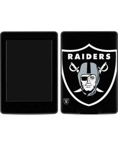Oakland Raiders Large Logo Amazon Kindle Skin