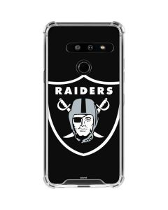 Oakland Raiders Large Logo LG G8 ThinQ Clear Case