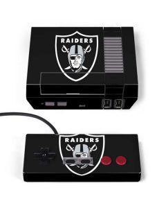 Oakland Raiders Large Logo NES Classic Edition Skin