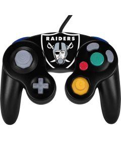 Oakland Raiders Large Logo Nintendo GameCube Controller Skin