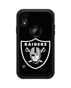 Oakland Raiders Large Logo Otterbox Defender iPhone Skin