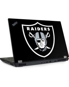 Oakland Raiders Large Logo Lenovo ThinkPad Skin