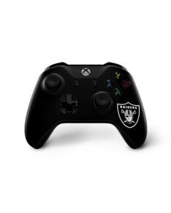 Oakland Raiders Large Logo Xbox One X Controller Skin