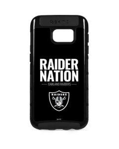 Oakland Raiders Team Motto Galaxy S7 Edge Cargo Case