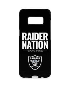 Oakland Raiders Team Motto Galaxy S8 Plus Lite Case