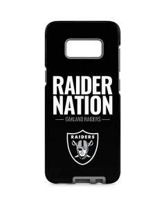 Oakland Raiders Team Motto Galaxy S8 Pro Case