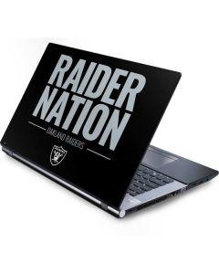 Oakland Raiders Team Motto Generic Laptop Skin