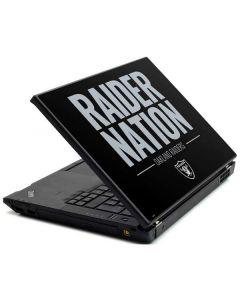 Oakland Raiders Team Motto Lenovo T420 Skin