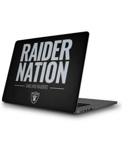 Oakland Raiders Team Motto Apple MacBook Pro Skin